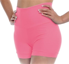 High Waist Dance Shorts (Lycra)